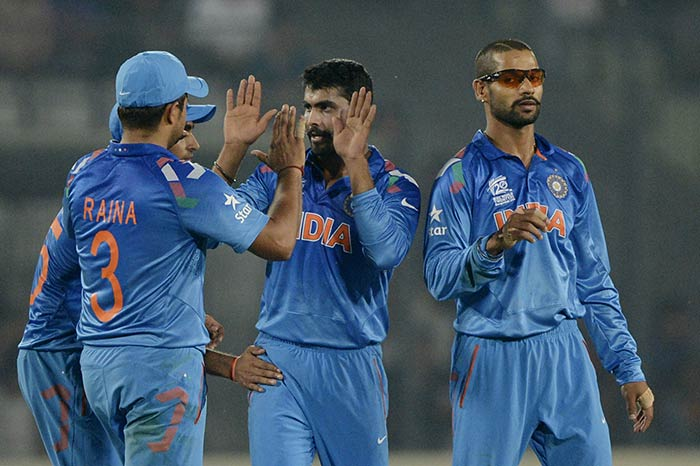 Ravindra Jadeja was responsible for puncturing any semblance of a resistance. His three wickets halted WI on 129/7.