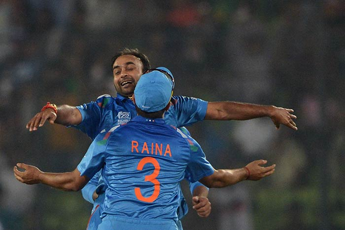 Once Amit Mishra was introduced, Pakistan batting crumbled. The spinner even had a wicket-maiden to his credit.