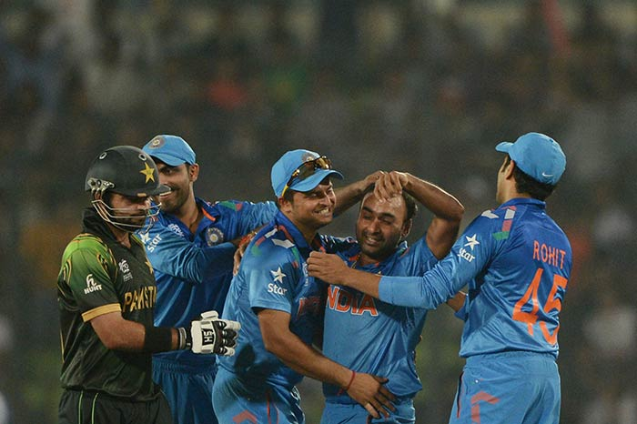 Mishra's four over cost just 22 and it helped India halt Pakistan on 130/7. It was an effort that would earn the 31-year-old the man-of-the-match award.