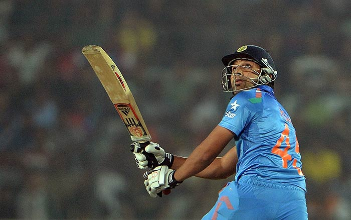 Rohit Sharma at the other end looked in decent form too. He scored 24 off 21 before surrendering to Saeed Ajmal's spin.