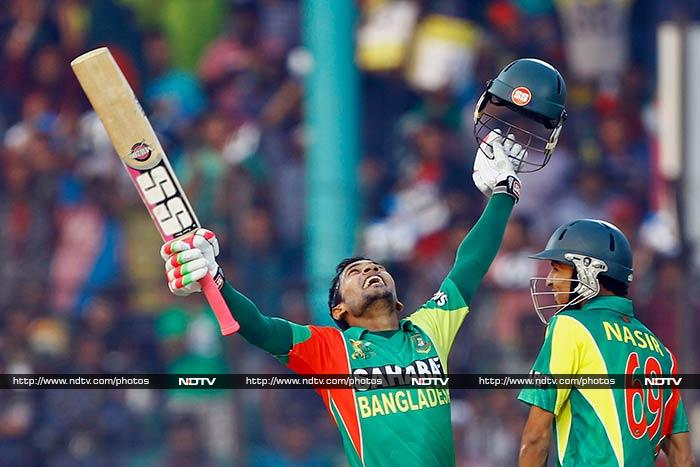 Bangladesh though will be proud of the cricket the team put on display with skipper Mushfiqur Rahim hitting 117 off 113 after his side was asked to bat.