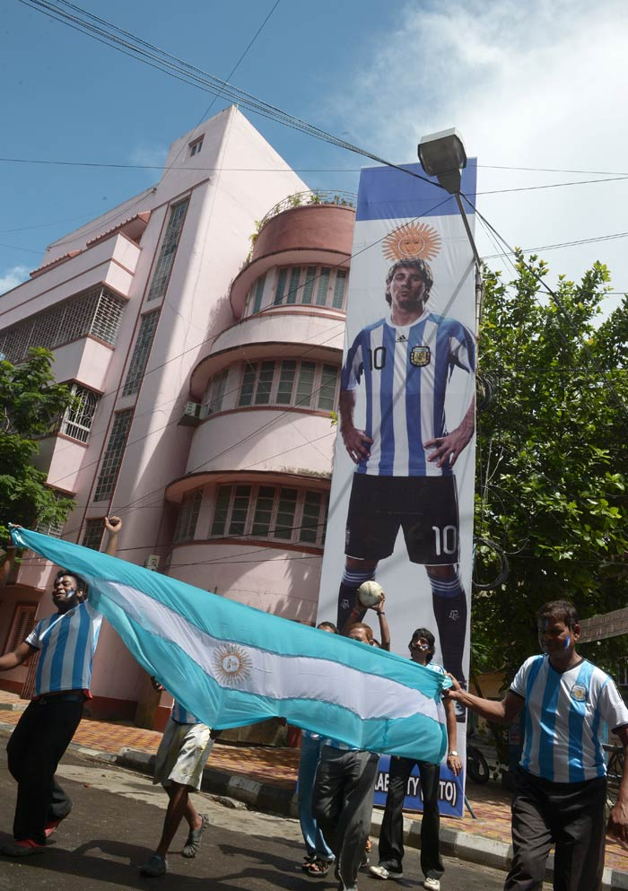 FIFA World Cup in Brazil. Take a look... All images courtesy AFP and ...