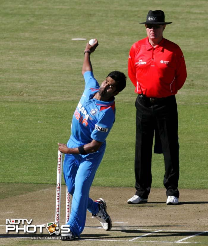 Sibanda's wicket was followed by a couple of quick strikes - Vinay Kumar, Mohammad Shami and Jaydev Unadkat claiming a wicket apience.