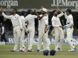Photo : India Beat England at Lord's After 28 Years, Record First Overseas Test Win Since 2011