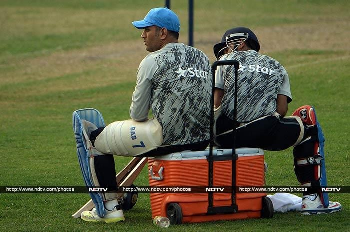 Indian skipper Mahendra Singh Dhoni is back to leading his troops and this time he's gunning for his second ICC World Twenty20 title. (All images AP and AFP).