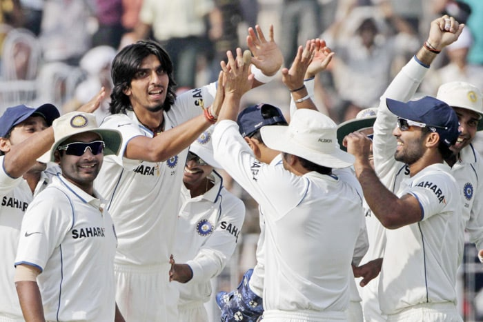 Ishant Sharma has of late not been able up to the promise he had shown. He struggled in the first Test. But it was his near perfect twin deliveries in the last session of the second Test that mellowed his critics. India needed three wickets in the last session to seal the Test. The lanky pacer broke the 70-run stand between Amla and Wayne Parnell after he removed the latter. Fourteen runs later, he struck again to dismiss Paul Harris.
