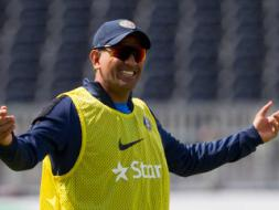 Indian Cricketers Train, Have Fun under Manchester Sun