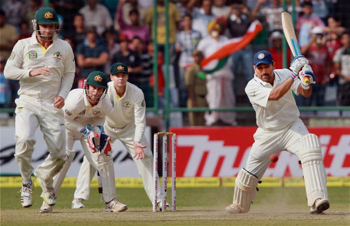 Skipper MS Dhoni stayed till the end in Delhi Test to ensure India complete a 4-0 whitewash of Australia. Dhoni ended as the third-highest run-getter after Murali Vijay and Cheteshwar Pujara.
