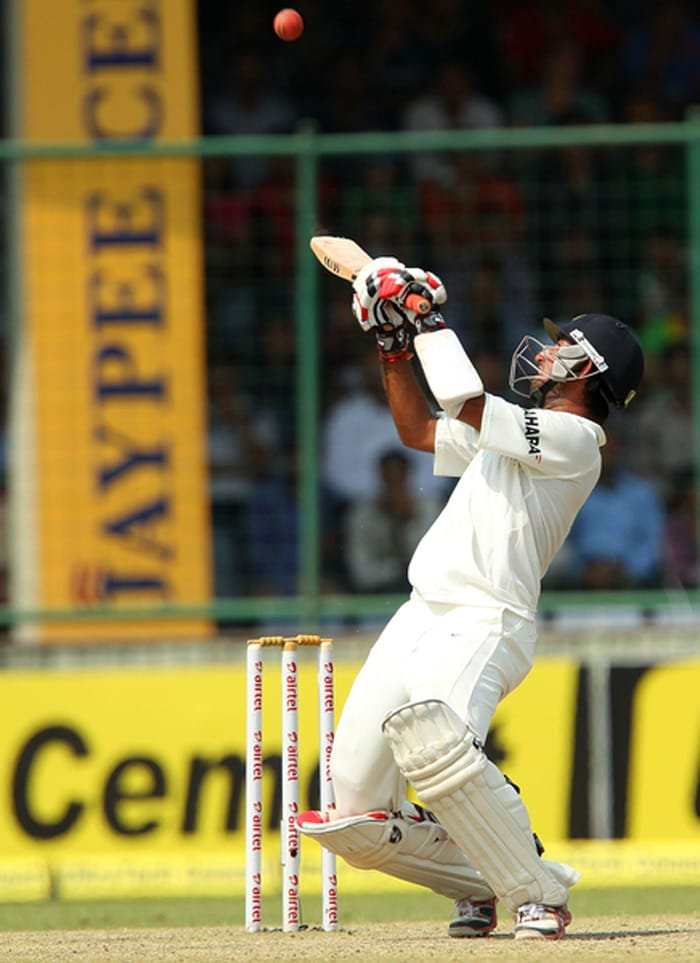 Cheteshwar Pujara top-scored for India with an unbeaten 82 to help India chase down Australia 155-run target. (BCCI image)