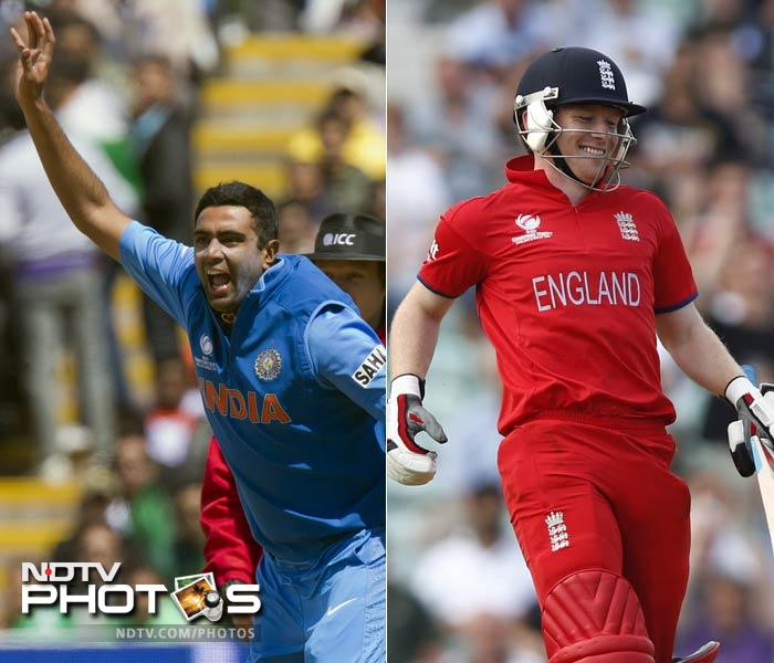 The battle between R Ashwin and Eoin Morgan will define how the middle-overs of the English innings pans out. <br><br>Both players have dedicated roles in their respective teams. And these are the roles that will cross each other's path to erupt in an explosion.<br><br>Watch out when Morgan looks to consolidate and Ashwin tries to sneak in with wickets - it will be a cat and mouse contest which will enthrall all.