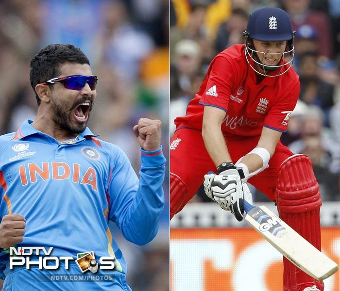 Both Ravindra Jadeja and Joe Root are wily customers - on and off the field. They play excellent cricket and believe in looking at the lighter aspects of life outside the stadium.<br><br> When both face each other though, there is hardly going to be any light exchanges.<br><BR>While Jadeja's spin has got him 10 wickets and the turn he has extracted stunned most, Root has a half-century from the tournament to extract confidence from.