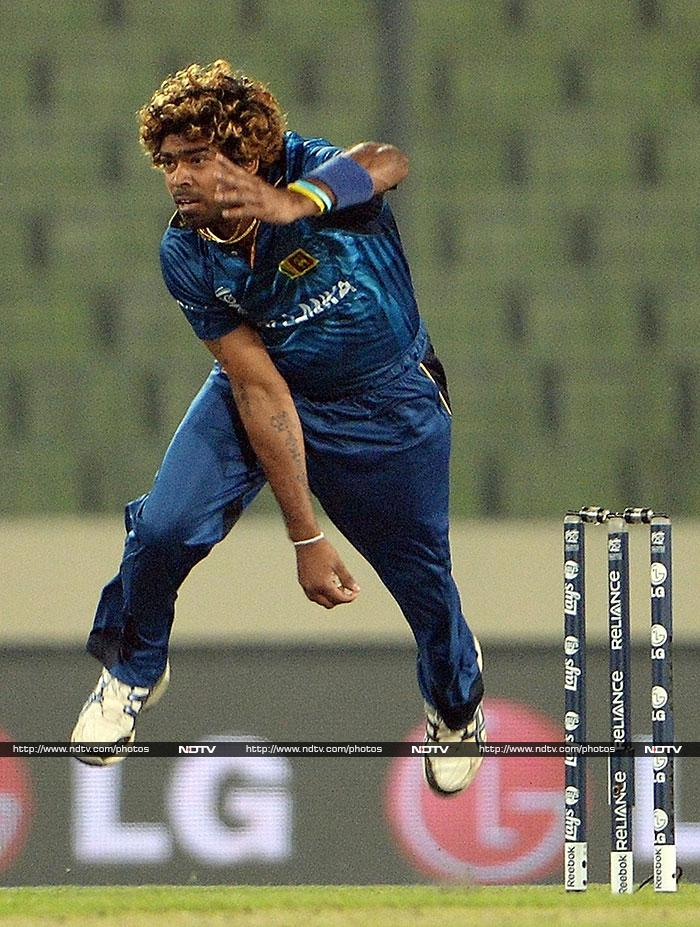Lasith Malinga emerged as the hero as he claimed four wickets and it was his final over that tilted the match Sri Lanka's way - defending 153.