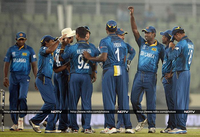 It was a practice match but Asia Cup champions Sri Lanka once again came out on top against India. The team registered a 5-run win in the final over to signal that they are ready to go the distance in this edition of ICC World Twenty20. <br><br>All images courtesy AFP