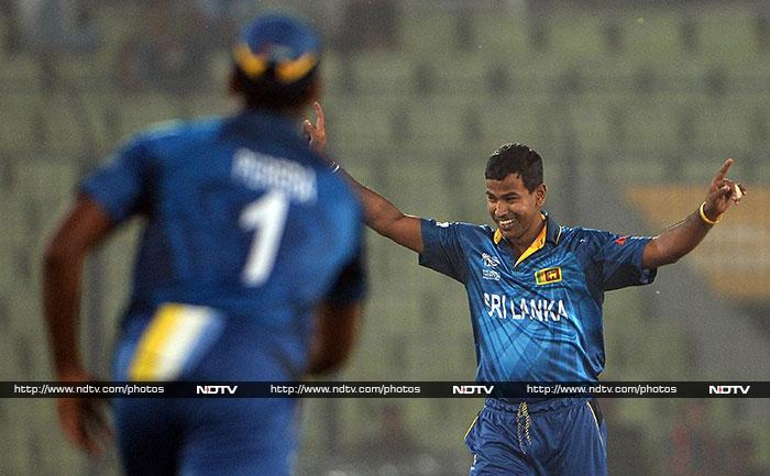 Nuwan Kulasekara was also in good form and claimed two key wickets to rock the Indian batting.