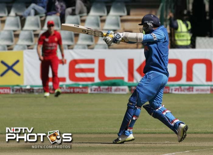 Dhawan was supported well by Dinesh Karthik who hit 69 in a 167-run 5th wicket stand which helped the visitors post 294.