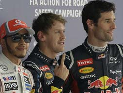 Photo : Indian GP Qualifiers: It's Red Bull at the pole again!