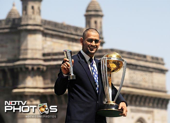 <b> Top of the World:</b> MS Dhoni became the second Indian cricket captain to win the World Cup. The year could not have begun on a better note as the maverick skipper led India to triumph in the 50-over format for the first time in 28 years.