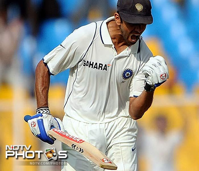 <b>The legendary wall:</b> Not only did Rahul Dravid stand out in a team sport but managed to cross the 13,000 run mark in Tests in 2011 as well. He even surpassed Sunil Gavaskar as the second-highest Indian centurion in Test cricket. Many more records and milestones fell in his kitty by the dozen in 2011.