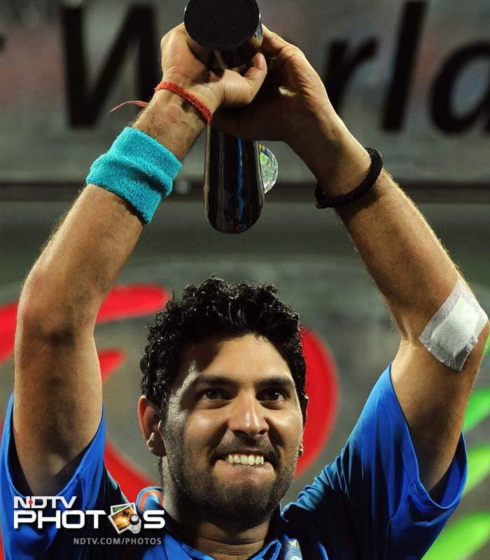 <b>Yuvraj of Indian cricket:</b> The year began with a bang for this uber cool south-paw. Man of the tournament in the cricket World Cup is a definitive high for most sportspersons. Although the rest of the year has been less fortunate for Yuvraj Singh, he did play his part in the team and made India proud.