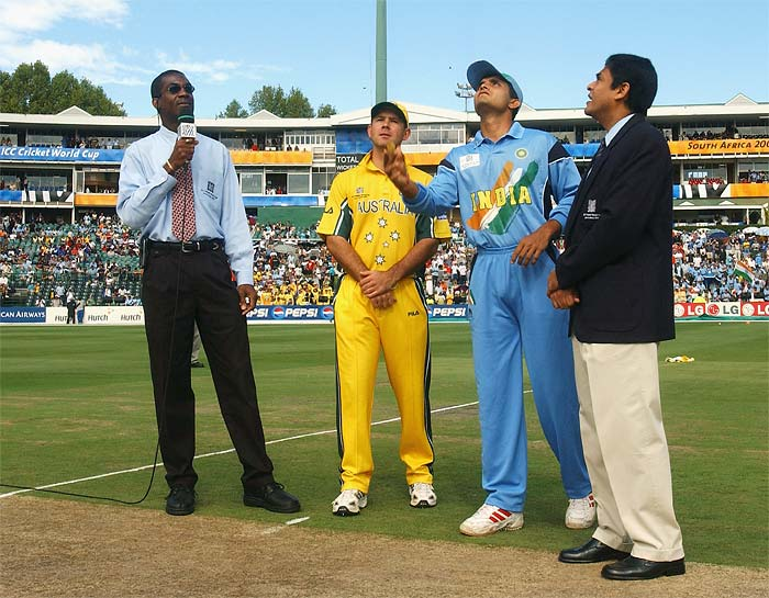 <b>23rd March, 2003:</b> The final match of the World Cup saw India square off against Australia once again. With memories fresh of the league debacle still fresh, India set out to lay claim on the title but fizzled out again against a determined side. (Getty Images)
