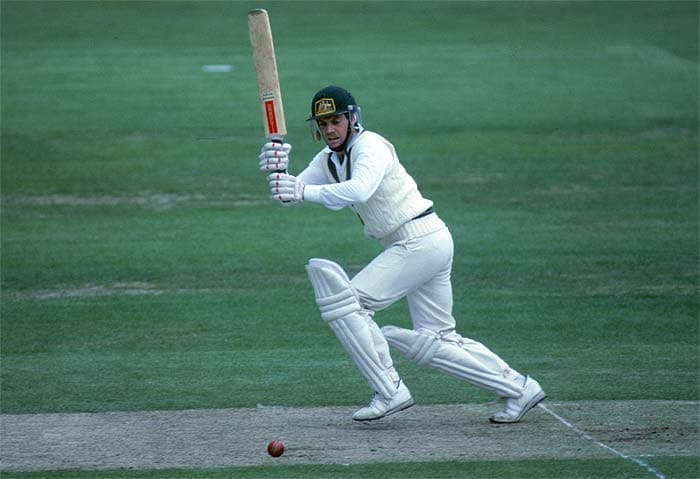 Batting first, Australia scored a mammoth 320 in their quota of 60 overs. Trevor Chappell's 110 was the cornerstone of their innings but Ken MacLeay's spell of 6/39 rendered the Indian batting senseless. (Getty Images)