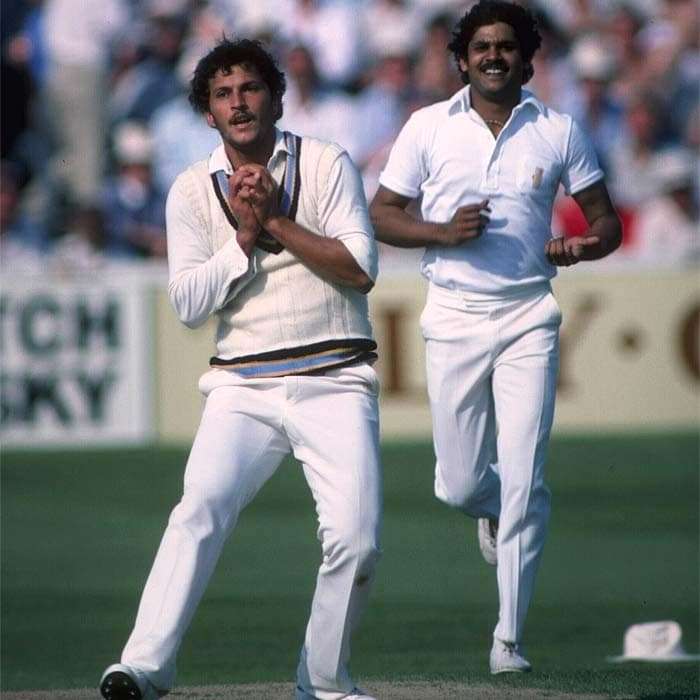 Madan Lal and Roger Binny, who took four wickets each, bowled in tandem to leave the Australian batsmen clueless. Even Chappell could hardly do much as he fell to Balwinder Sandhu for just 2. (Getty Images)