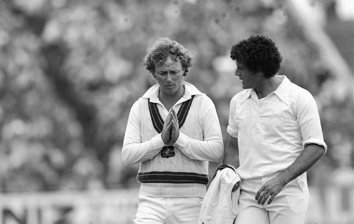 <b>13th June, 1983:</b> The first World Cup encounter between the two sides was in 1983. Coming from emphatic wins against the West Indies and Zimbabwe, India would have fancied their chances against Australia but it was not meant to be. The team from down under handed a thumping 162-run loss to Kapil Dev's side. (Getty Images)