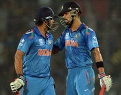 Photo : World T20 warm-up: Virat Kohli, Suresh Raina help India beat England