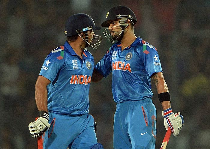 An 81-run stand for the fourth wicket between Raina and Kohli helped India post 178/4 in 20 overs.