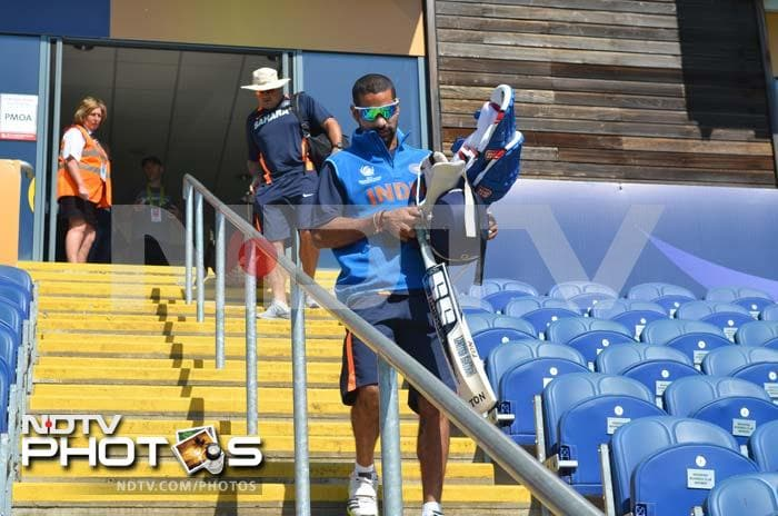Eyes were especially on Shikhar Dhawan who is expected to open once again against Australia. He was run-out before he could make an impact against Sri Lanka and his role at the top will be pivotel.