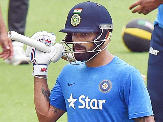 Indian Players Toil Hard Ahead of Eden Gardens Test