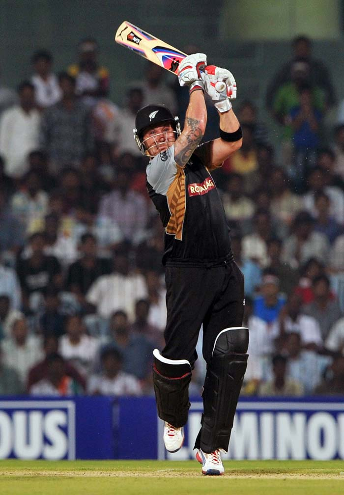 Brendon McCullum decided however, to anchor himself in but there was nothing defensive about his innings.