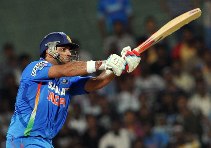 His 34 off 26 however could not take India home as the hosts lost by a run.