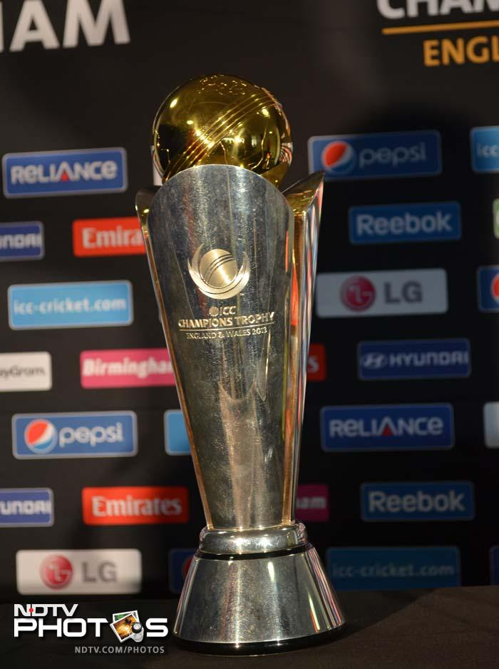 This is the trophy that India and England will be vying for cometh Sunday.