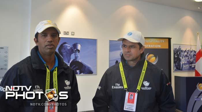 Aleem Dar might not be umpiring in the title clash but his colleague and ICC's best umpire, Kumar Dharmasena, will be. Both seem in a pensive mood ahead of the final.