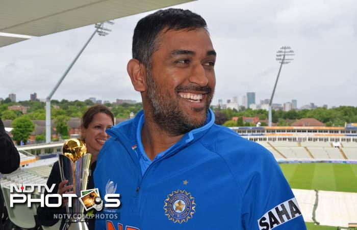 This Indian team at the Champions Trophy has done no wrong and whatever Dhoni touches is turning into gold. As always, the captain cool does not seem fazed even before another huge day in his cricket life.