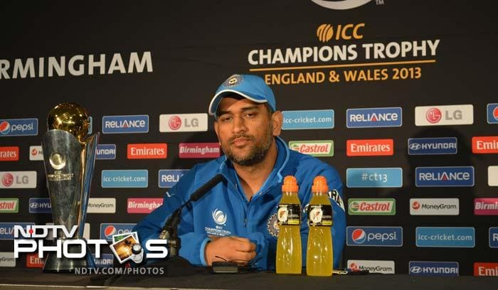 """Speaking on Sunday's Champions Trophy final, Dhoni was clear when he said there were no special plans against England here at Edgbaston. """"We will go with the same approach like we did in the match against Pakistan and the semifinal (versus Sri Lanka),"""" said the Indian captain."""