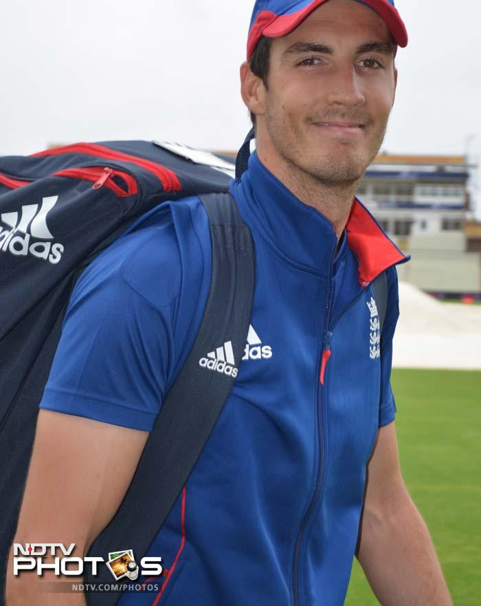 Steven Finn is all smiles to the camera but will have loads of work to do in the final, if he plays. Injuries might have plagued, and kept him out of the side recently, but the tall fast bowler will be all geared up for the Men in Blue.
