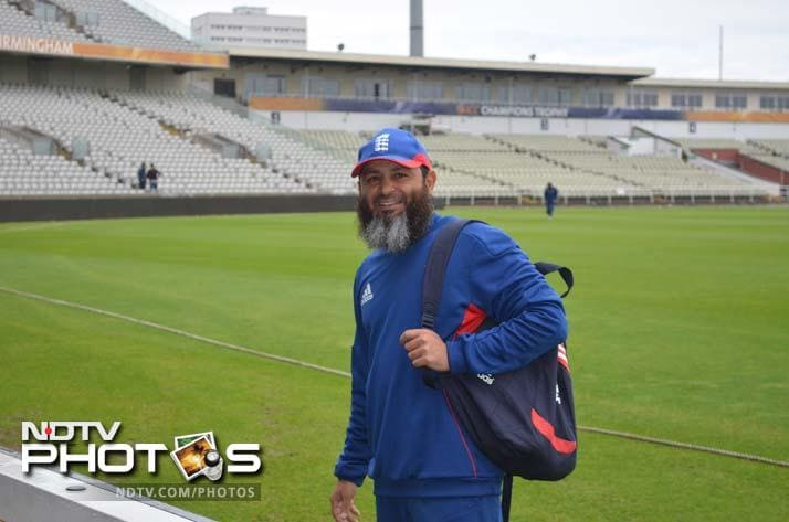 England will be banking on their spinners on the helpful pitch in Birmingham, weather permitting. For the spinners to work, Mushtaq Ahmed, England's spin bowling coach, is the key.