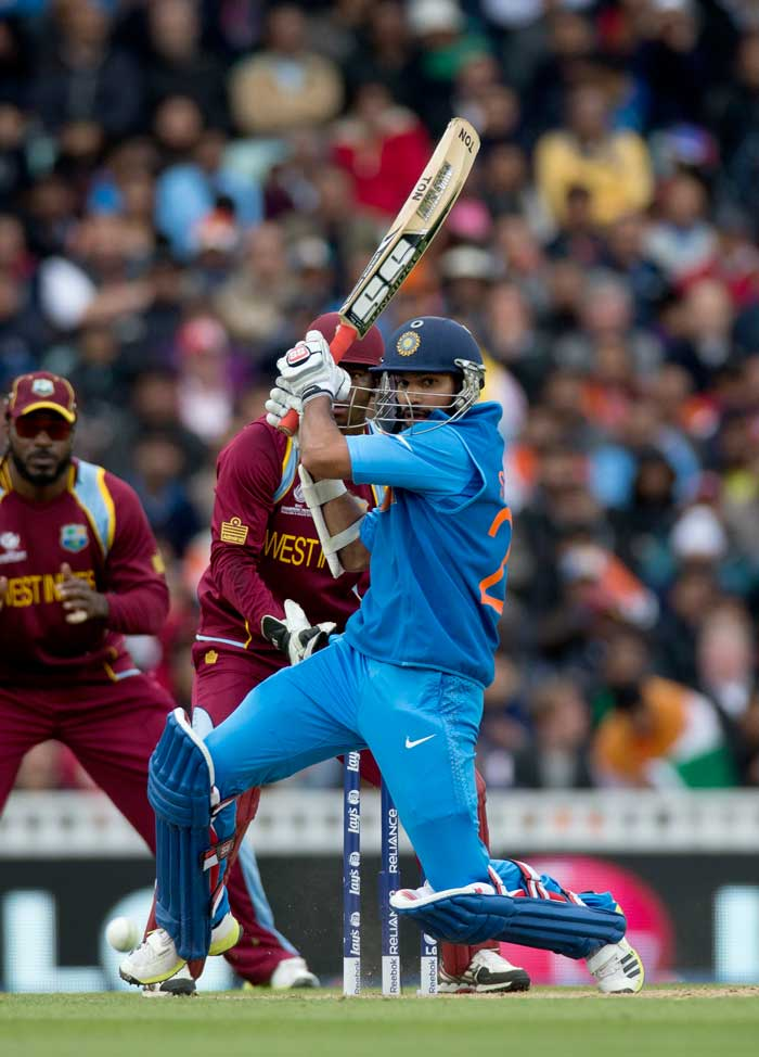 Shikhar Dhawan is in the form of his life, with his second successive century. Dhawan, with 216 runs at an average of 216.00 in two games, is the top run-getter in the tournament thus far.
