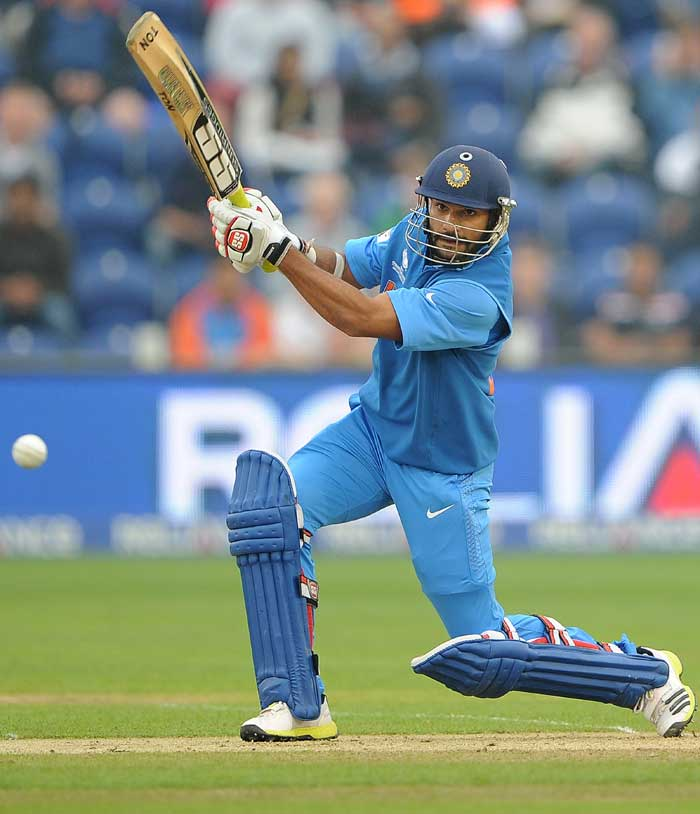 Shikhar Dhawan carried on with his sensational form, with a 92-ball 68. The left-hander has scored 332 runs in four games in this tournament this far at an average of 110.66.