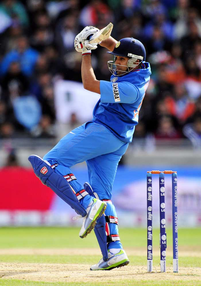 Rohit Sharma has got starts throughout this tournament, but has failed to convert them in to big scores. Sharma was bowled for 33 but provided a solid platform for the batters that followed.