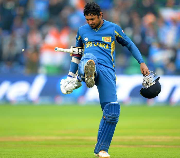 Much was dependent on middle-order batsman Kumar Sangakkara. But the left-hander who has been in good touch in the tournament, scored just 17.