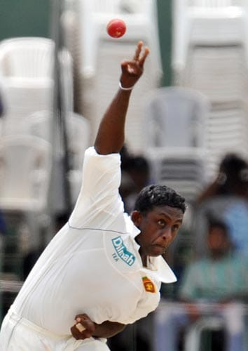 India visited Sri Lanka again in 2008 and it was expected that the Indians will get the better of the Lankans with their famed batting line-up. But alongwith the menacing Muralitharan, India had to face a mystery man in the Lankan bowling attack.<br><br> Young spinner Ajantha Mendis with his 'carrom-flick' bowling style bamboozled the Indian batsmen and ended the series with a rich haul of 26 wickets.<br><br> As in 2001, the Indians managed a solitary win the the second Test, winning by a margin of 170 runs, but Sri Lanka were on the top in the first and the last Test match to win the series 2-1.