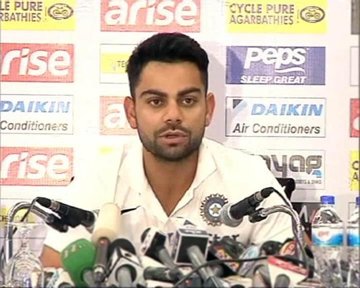 In the end though, Team India's fortunes will be in the hands of Virat Kohli who told reporters that he is excited to lead the young team and that captaincy will be a personal test for him as well.
