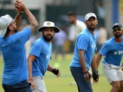 India, New Zealand Toil Hard on Eve of Indore Test