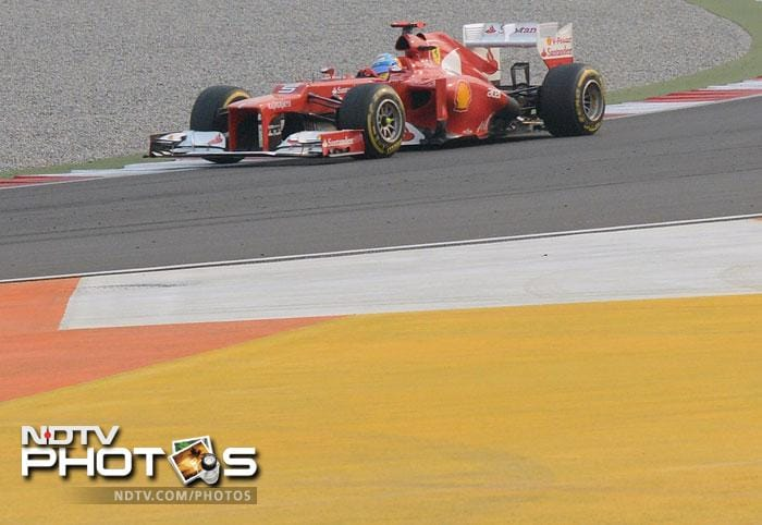 Fernando Alonso gave Ferrari reason to be proud as he finished second in the final race and secured a podium finish.