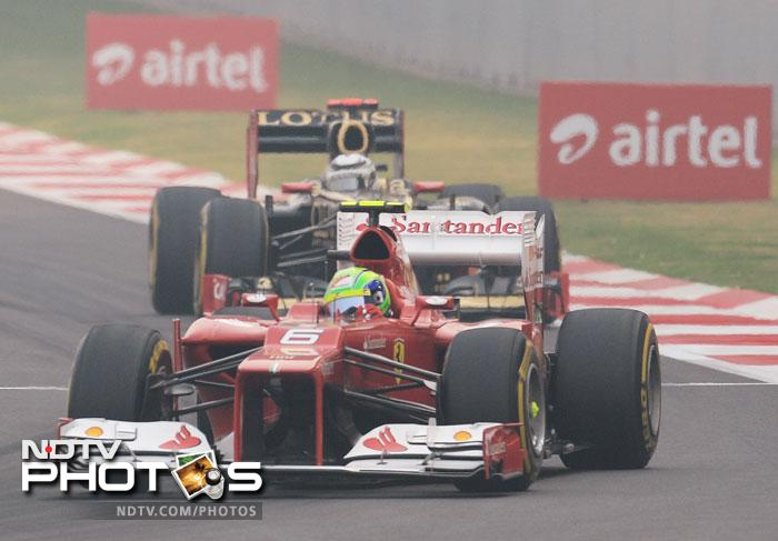 Felipe Massa did not perform as per expectations and had to be content with sixth spot in the standings.
