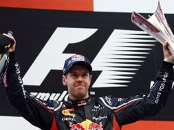 Indian Grand Prix: Sebastian Vettel makes history repeat itself