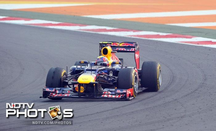 Mark Webber stepped up his game to come in third ensuring that Red Bull had two out of the three podium finishers.